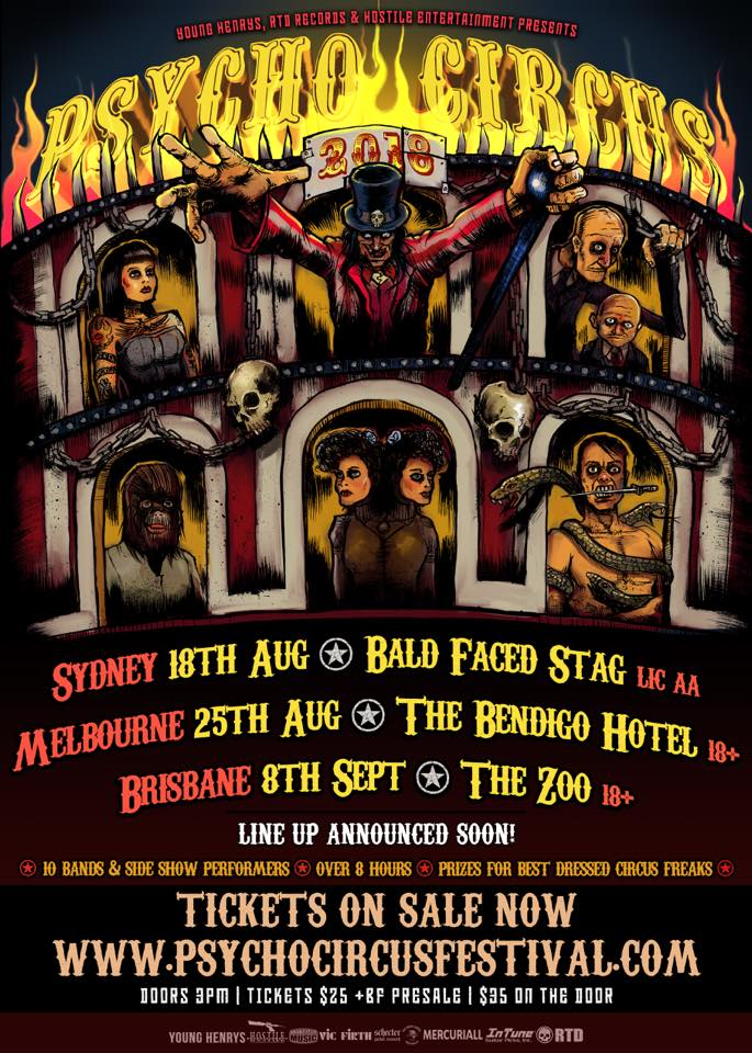 Psycho Circus Festival Poster