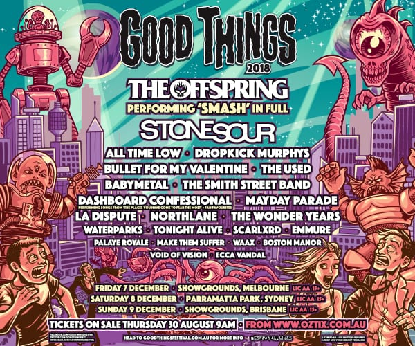 Good Things Festival Poster