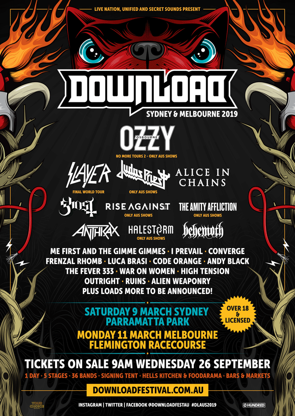 Download Festival 2018 Line-up on HEAVY Magazine
