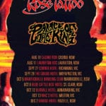 Rose Tattoo - Dates