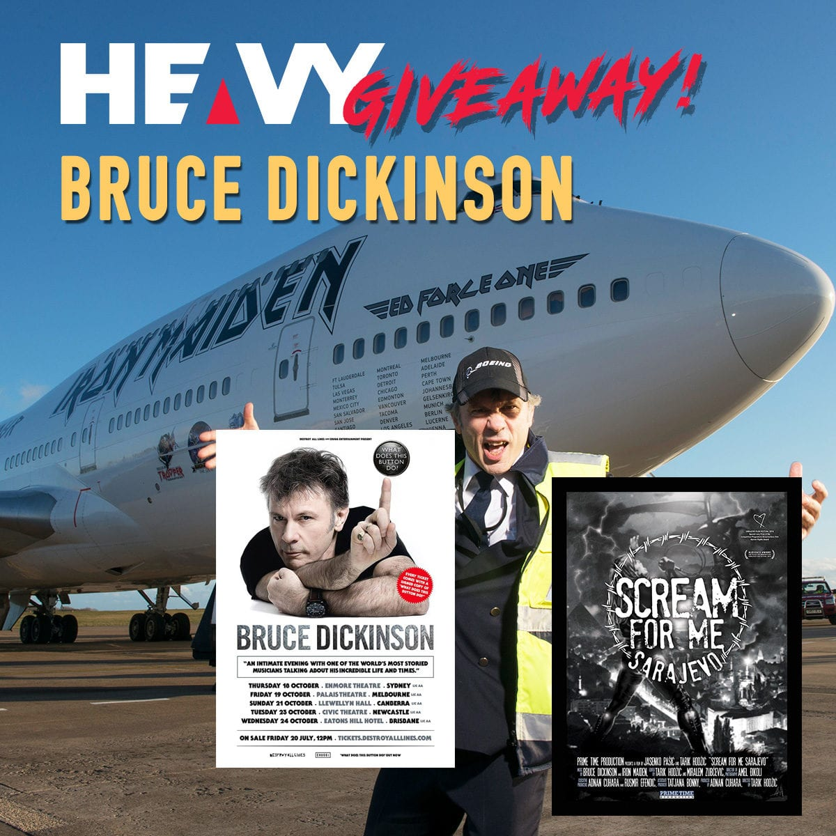 Bruce Dickinson Competition