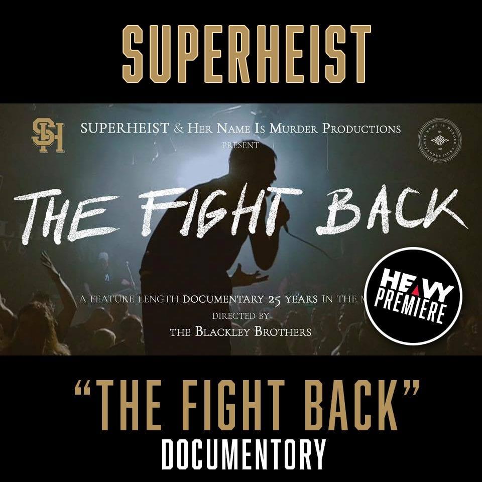 "Superheist ""The Fight Back"" graphic"
