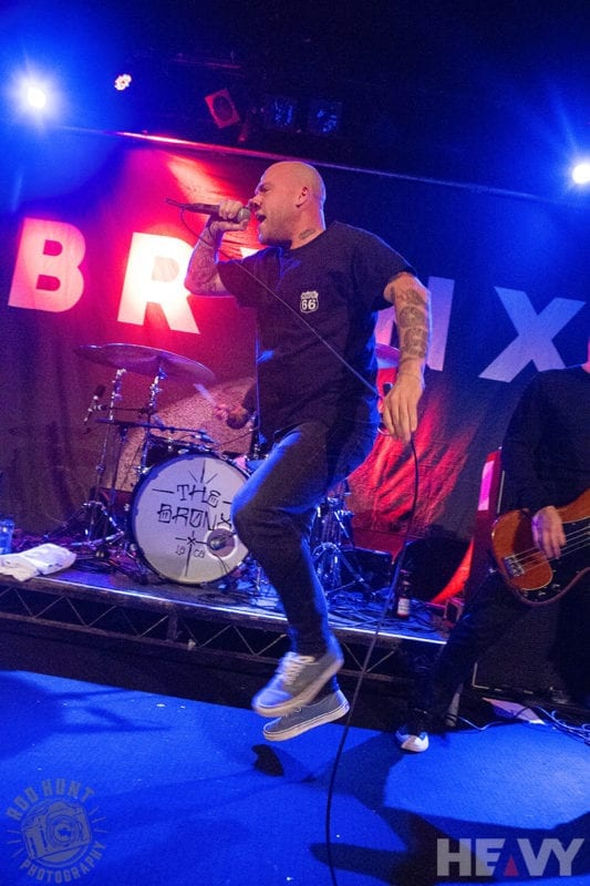 Live photo of The Bronx at the Metro in Sydney by Rod Hunt