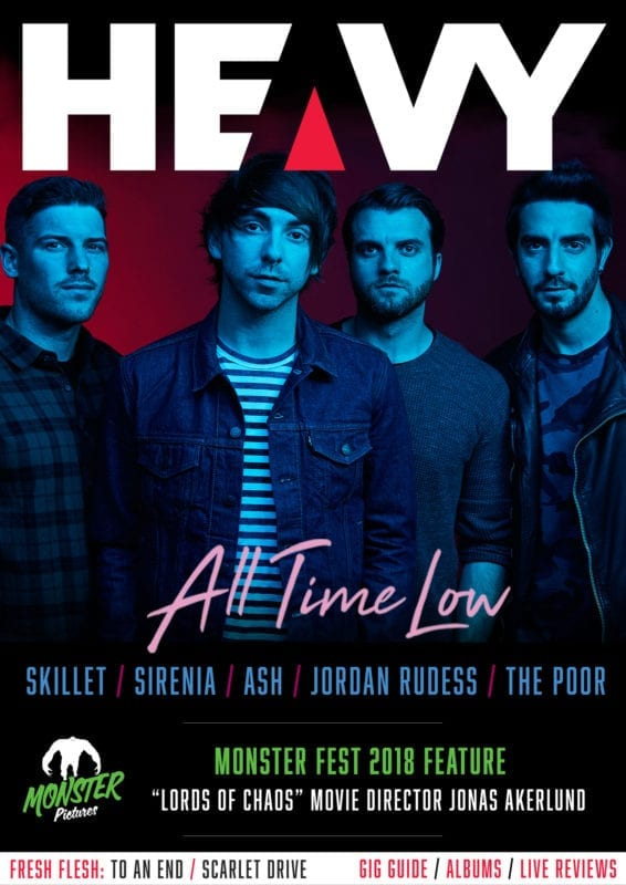 HEAVY Magazine Issue #55 cover