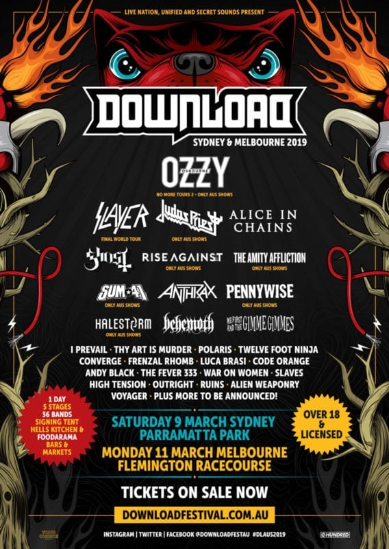 Download Festival 2019 poster