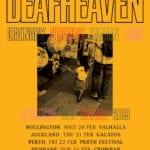 Deafhaven Australian Tour Poster