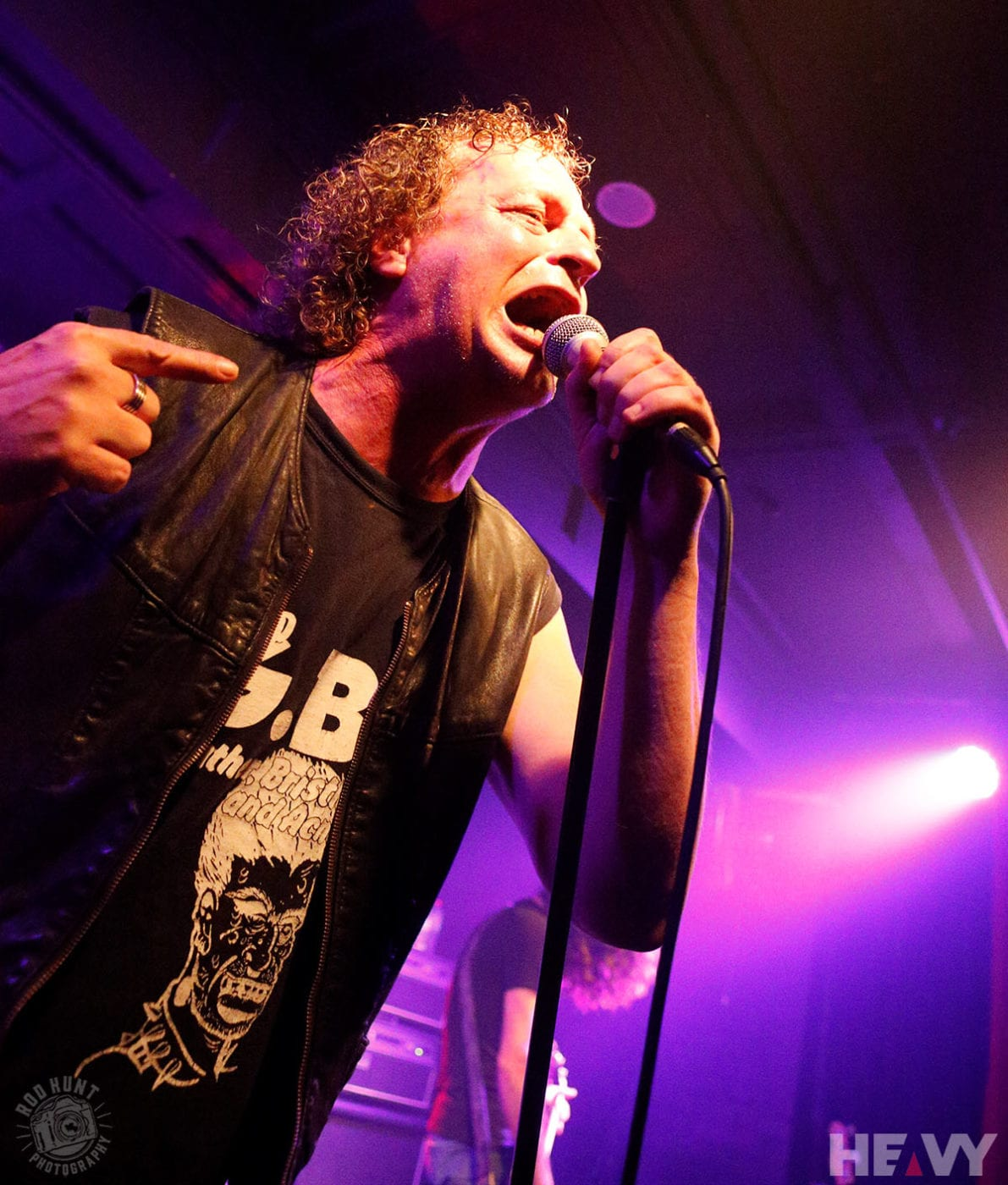 Photo of Voivod live in Sydney on January 26 2019 by Rod Hunt