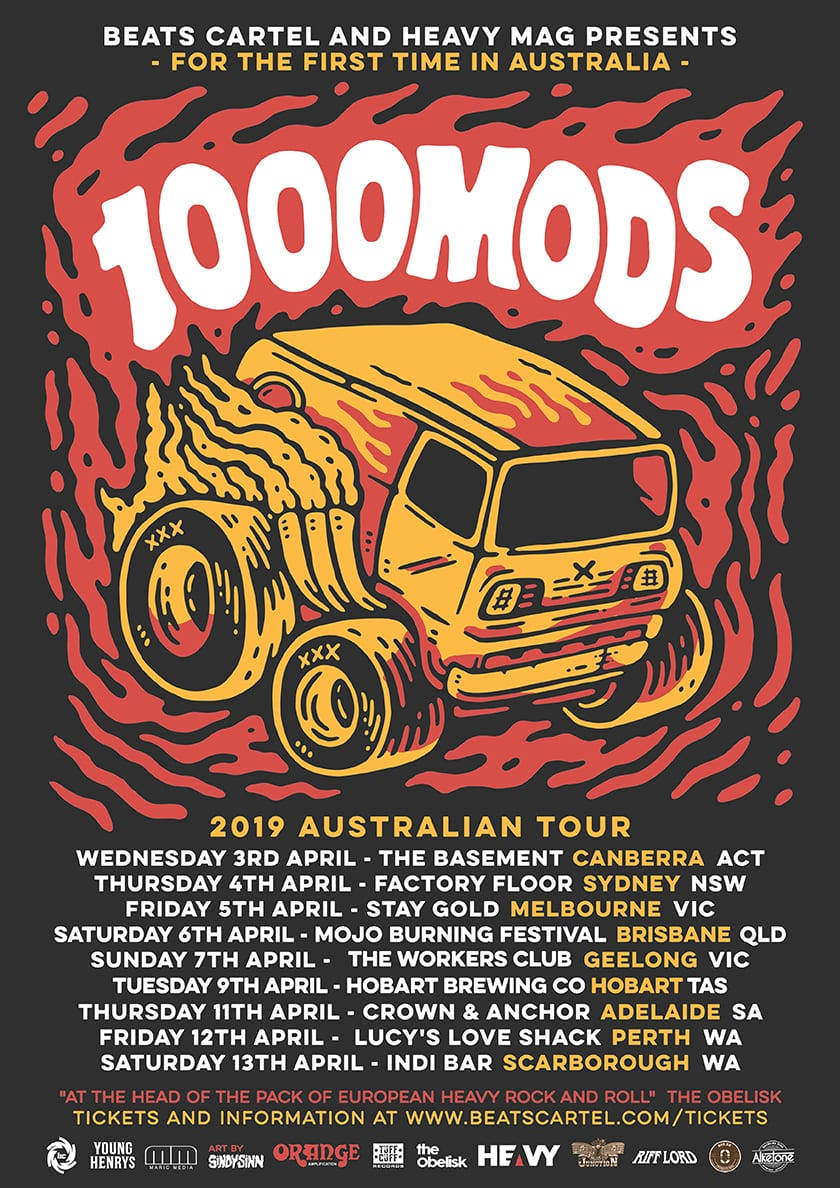1000MODS Announce Tour Supports