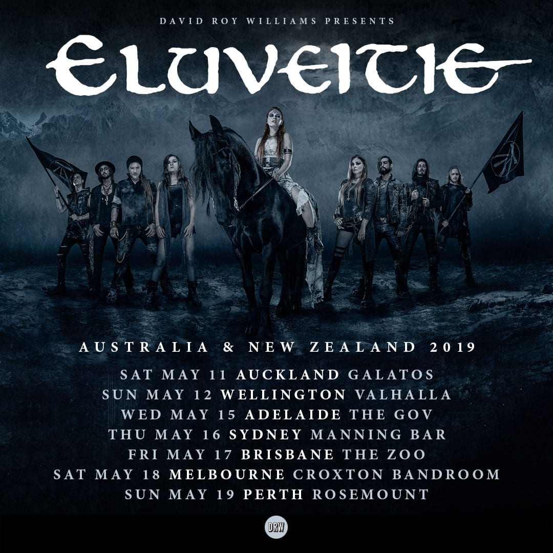GIVEAWAY: Double-pass to see ELUVEITIE – HEAVY Magazine