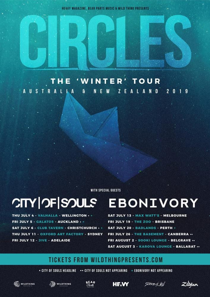 Circles The Winter Tour - Australia & New Zealand