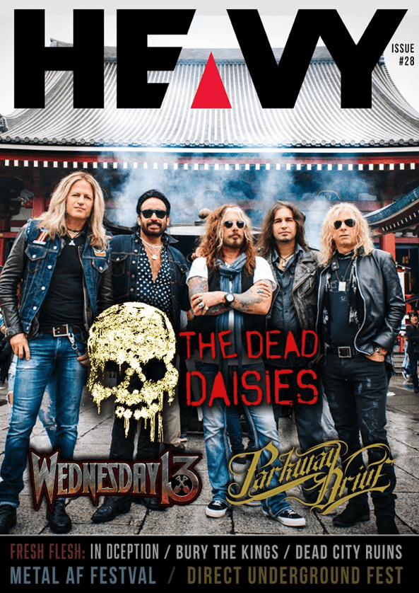 HEAVY Magazine Cover - Digi-Mag 31