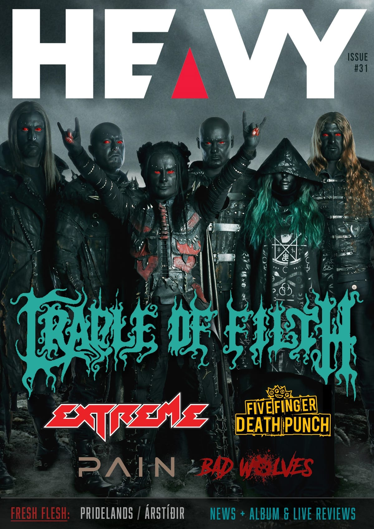 HEAVY Magazine Cover - Digi-Mag 34