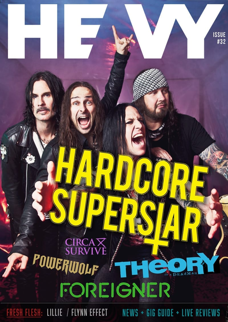 HEAVY Magazine Cover - Digi-Mag 35