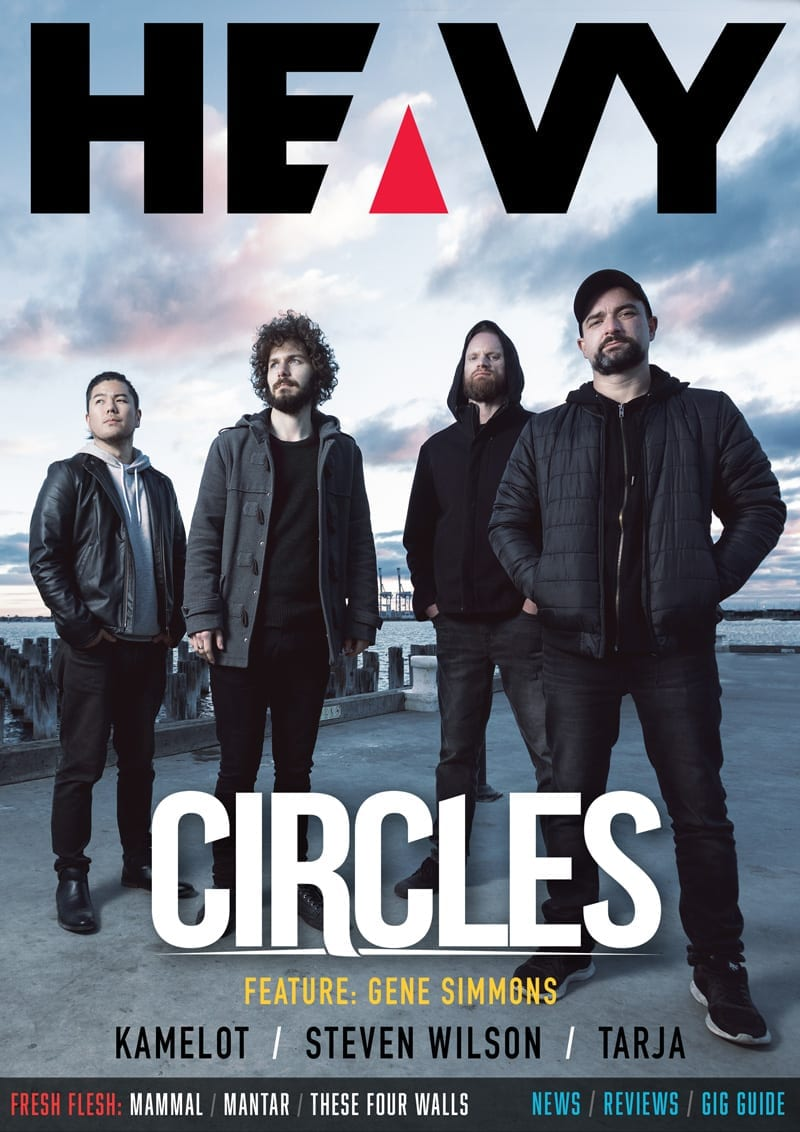 HEAVY Magazine Cover - Digi-Mag 41