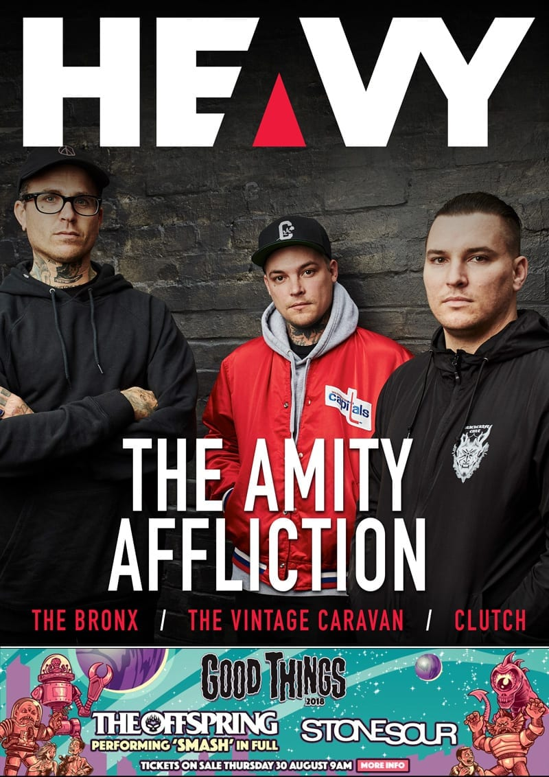 HEAVY Magazine Cover - Digi-Mag 45