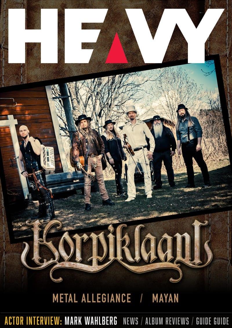 HEAVY Magazine Cover - Digi-Mag 46