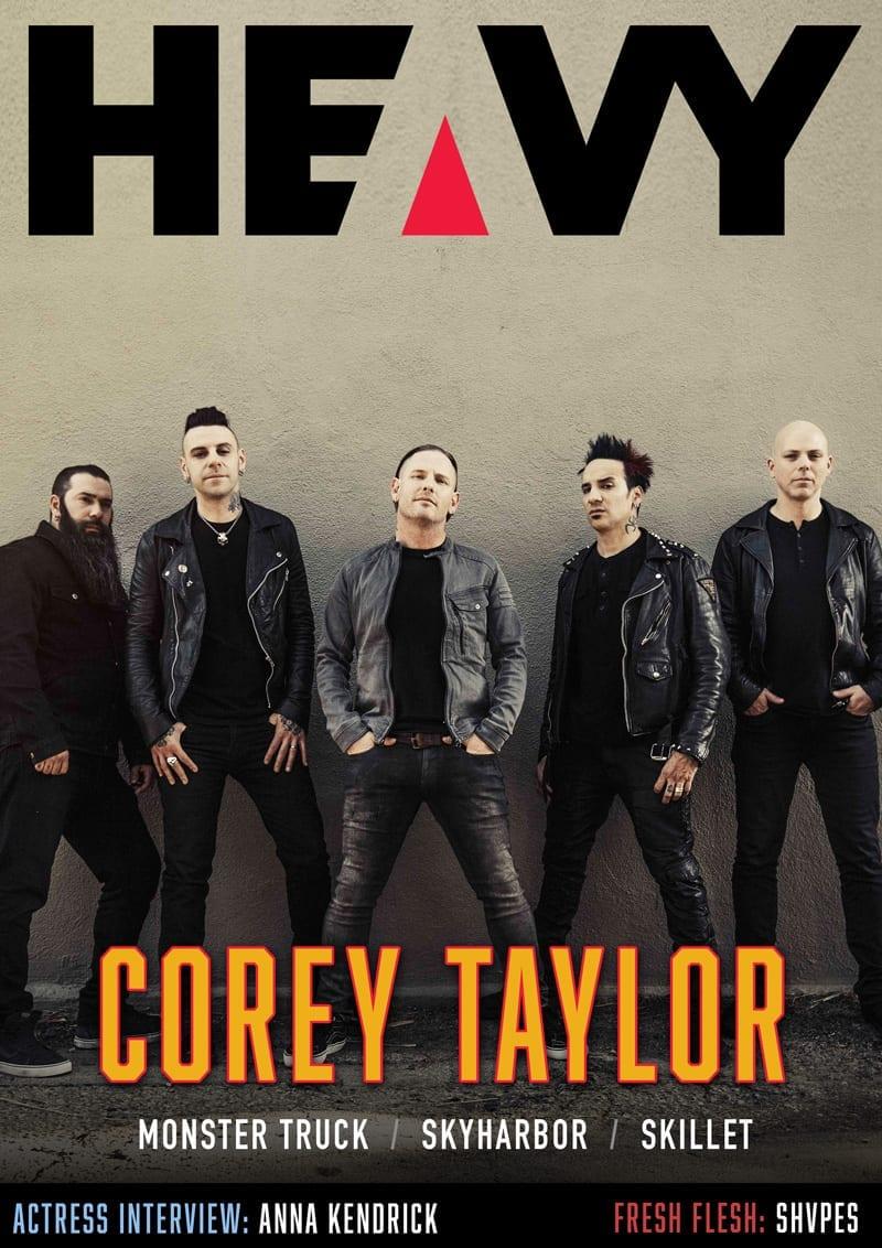 HEAVY Magazine Cover - Digi-Mag 48