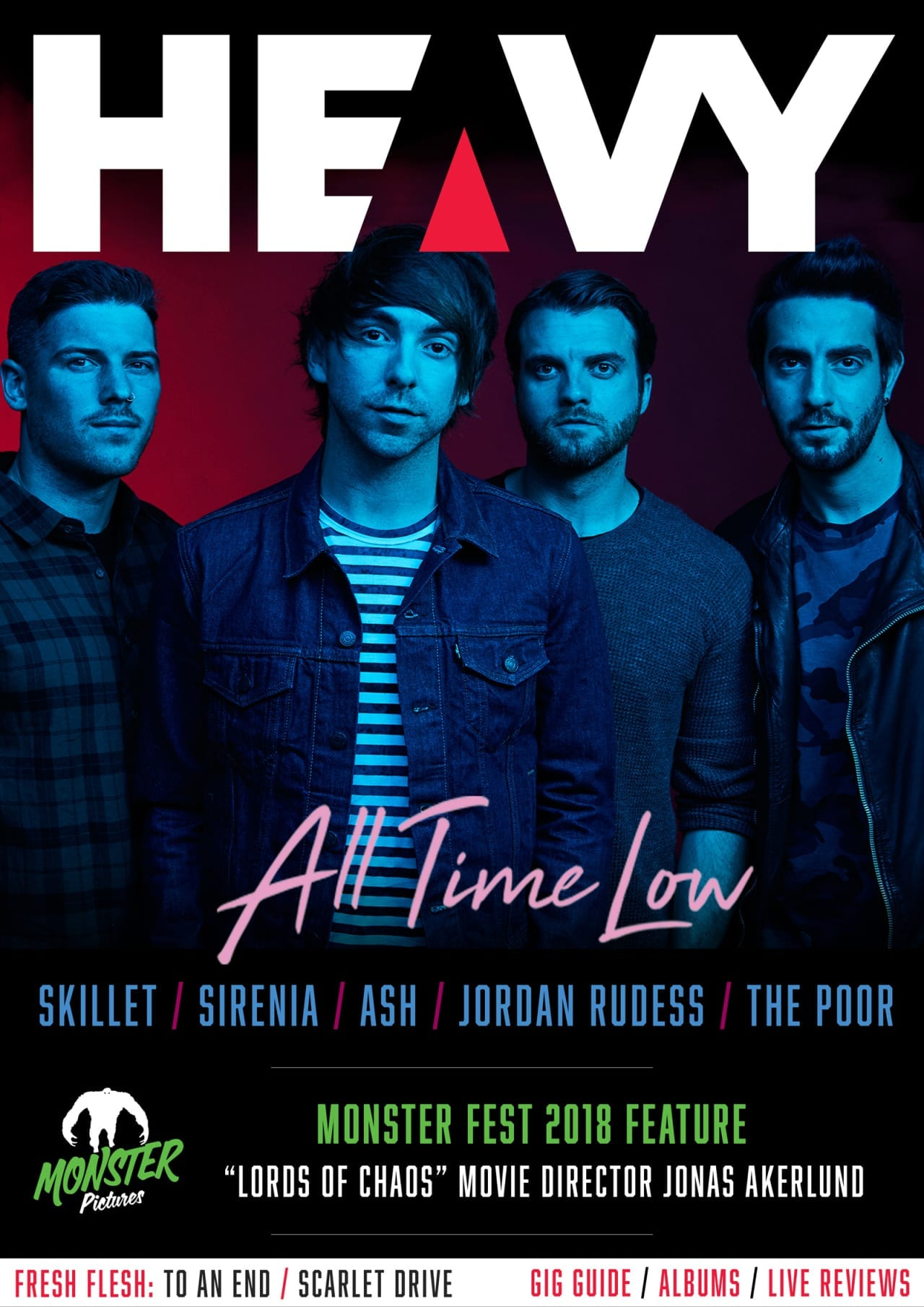 HEAVY Magazine Cover - Digi-Mag 49