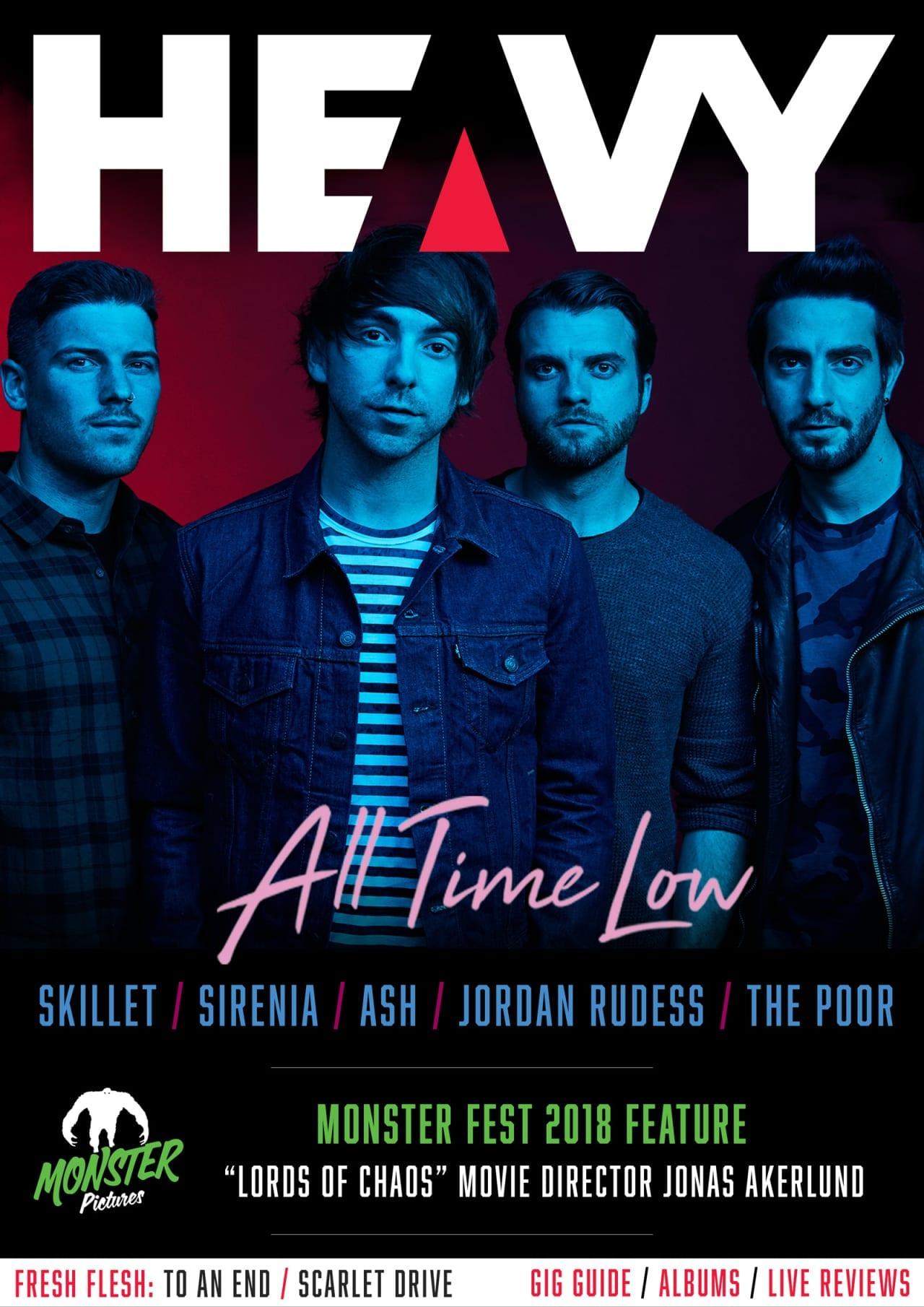 HEAVY Magazine Cover - Digi-Mag 49