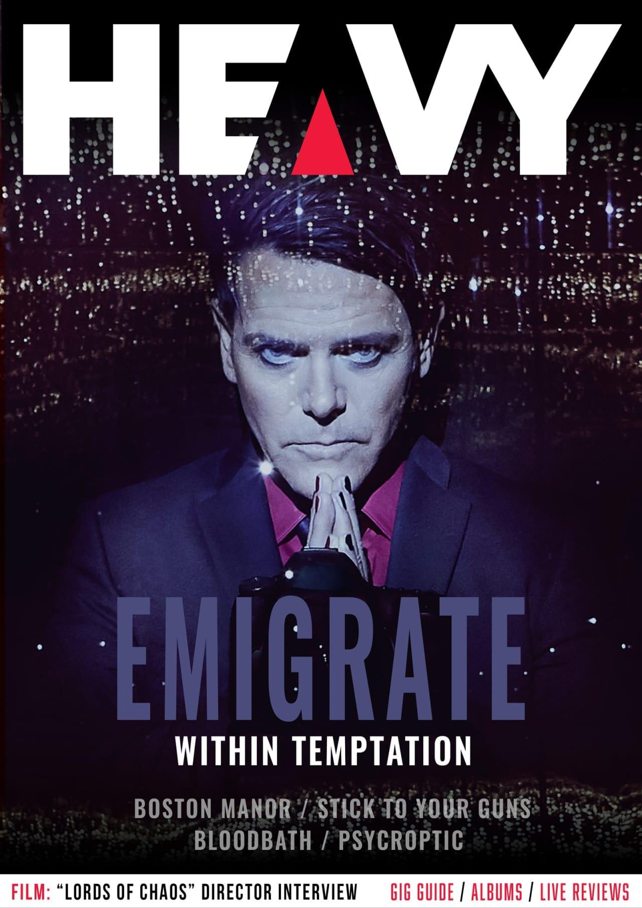 HEAVY Magazine Cover - Digi-Mag 50