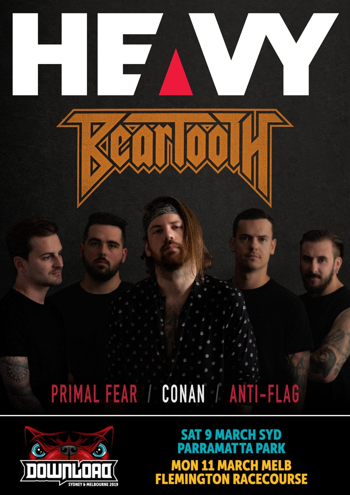 HEAVY Magazine Cover - Digi-Mag 51
