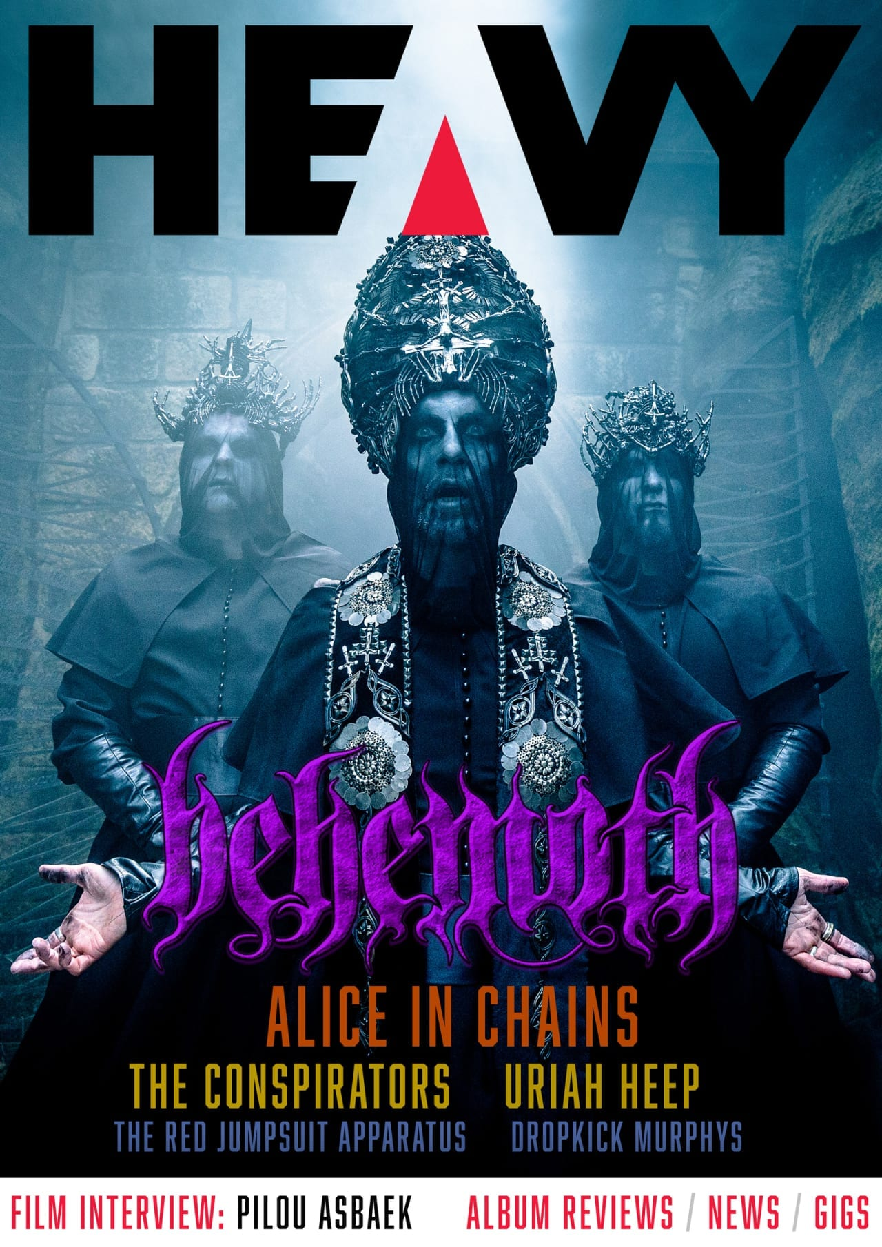 HEAVY Magazine Cover - Digi-Mag 54