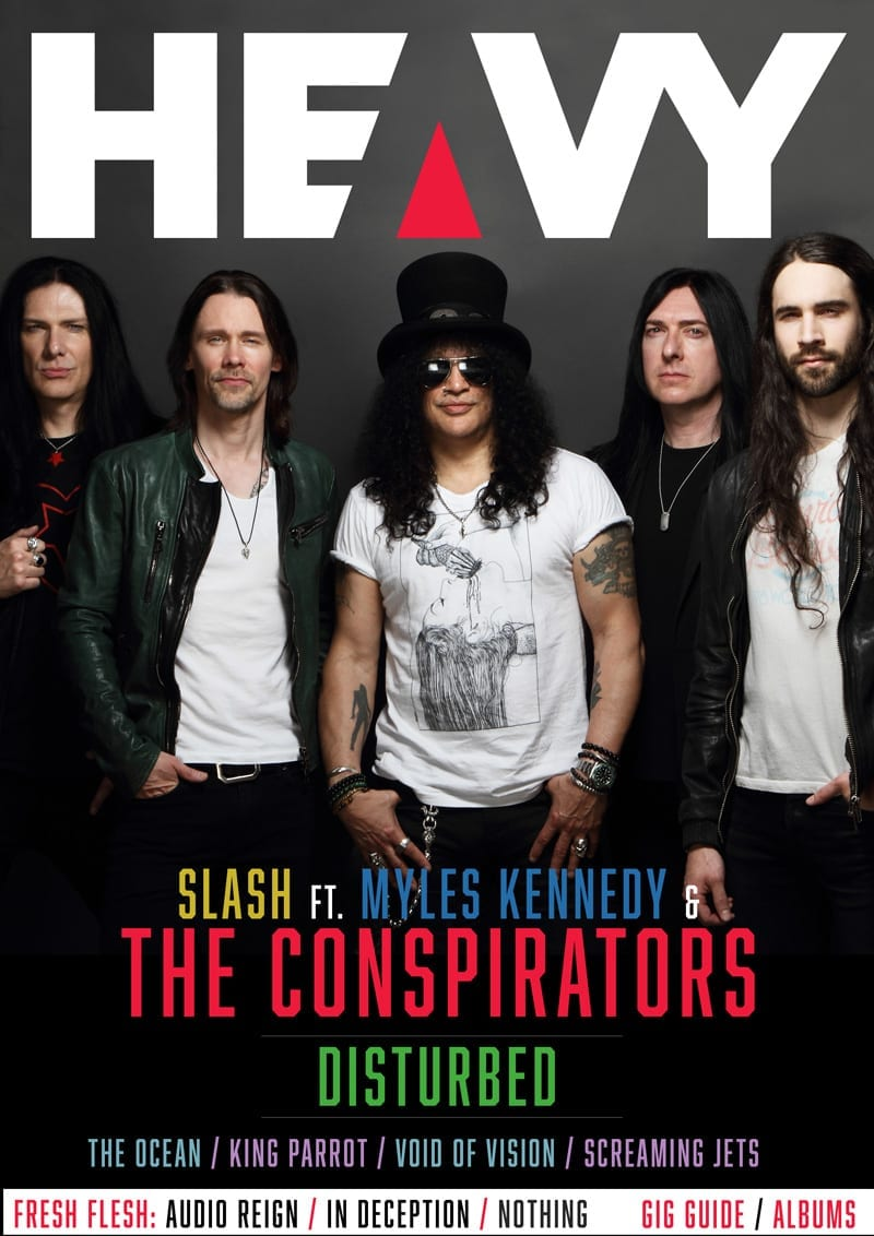 HEAVY Magazine Cover - Digi-Mag 56