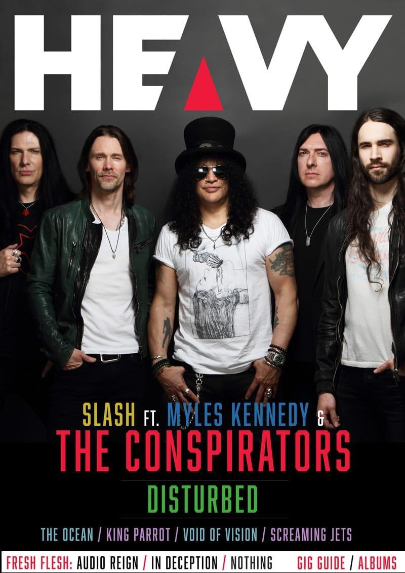 HEAVY Magazine Cover - Digi-Mag 56