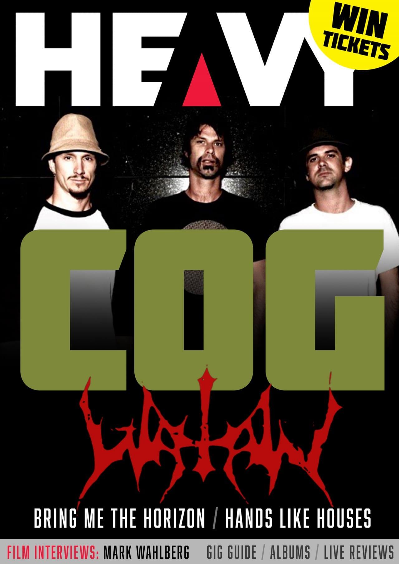 HEAVY Magazine Cover - Digi-Mag 61