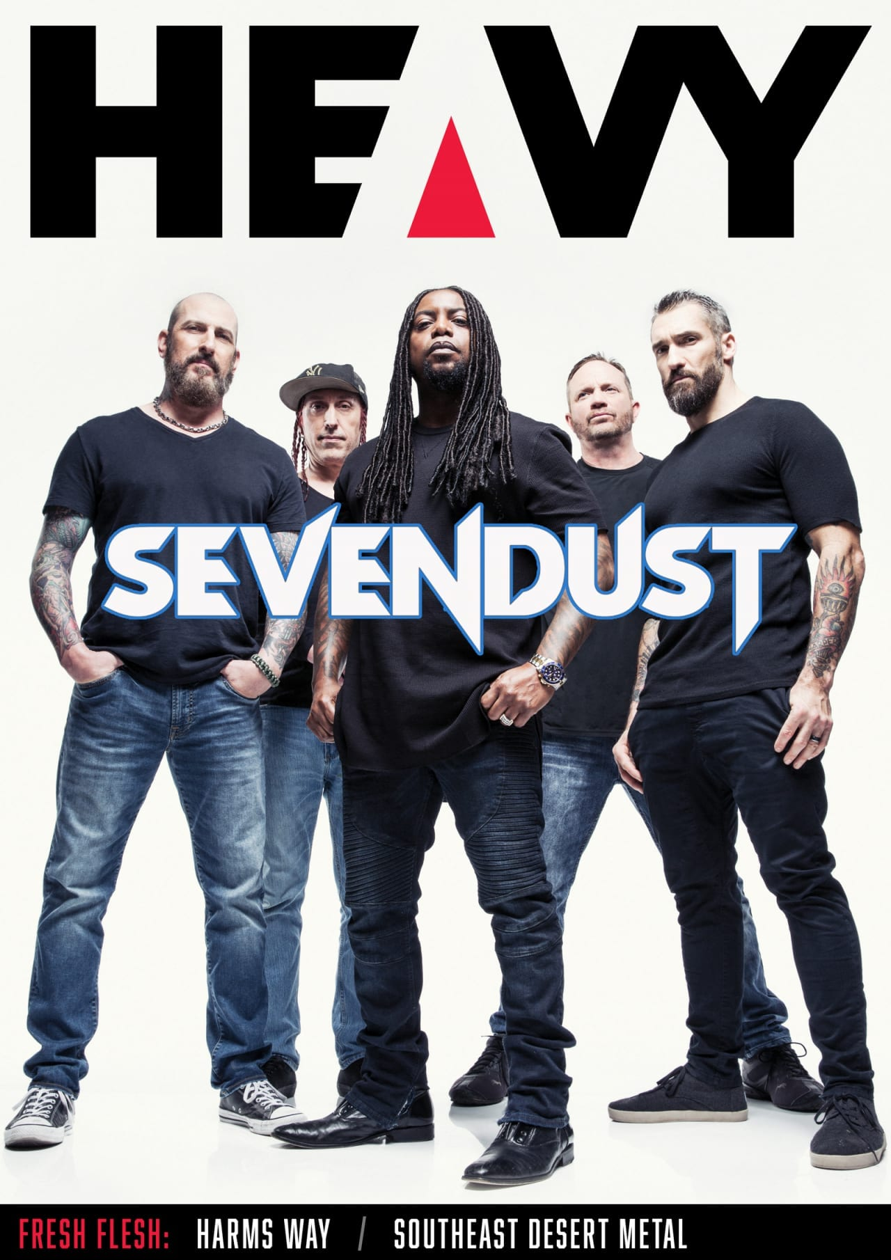 HEAVY Magazine Cover - Digi-Mag 62