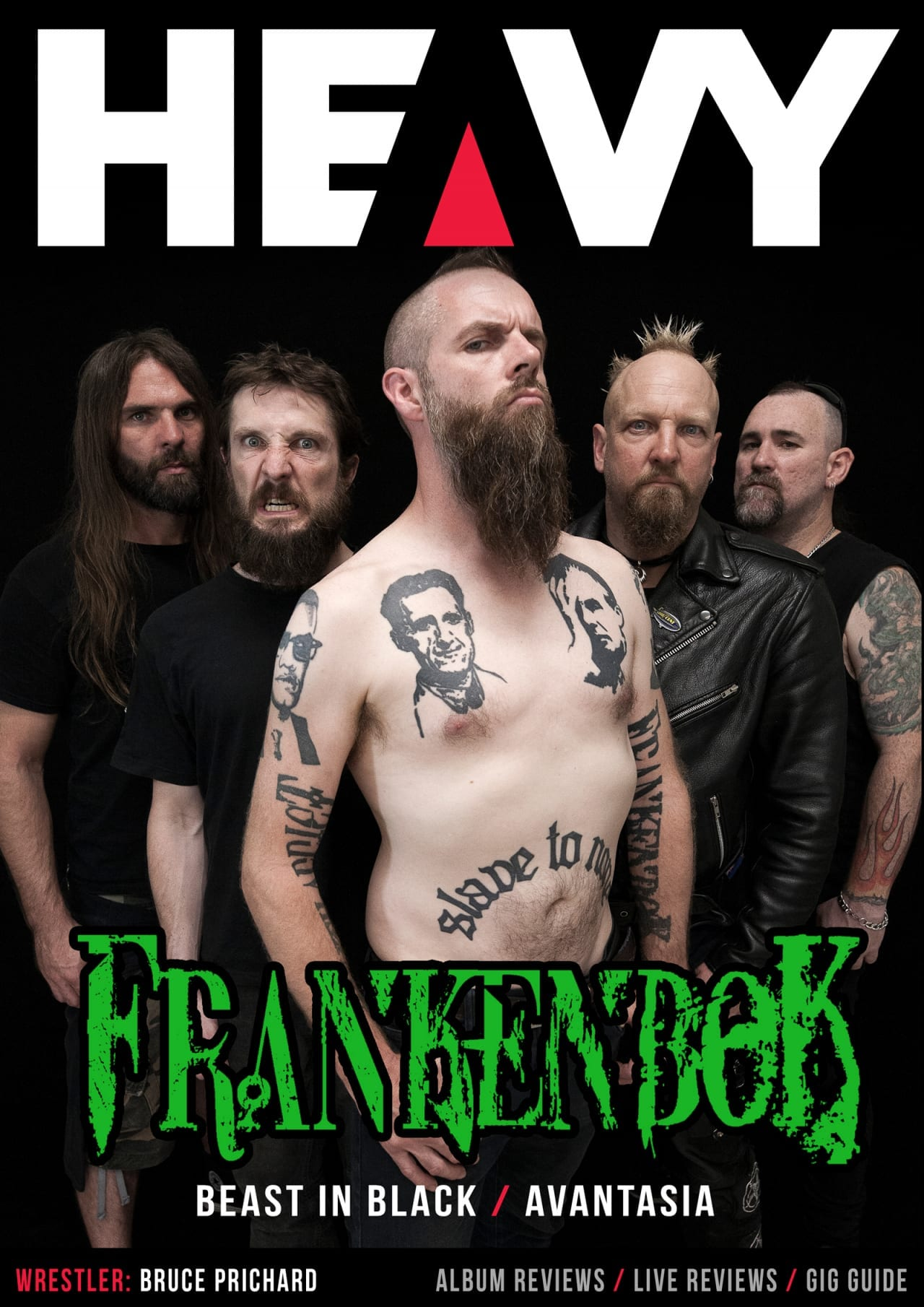HEAVY Magazine Cover - Digi-Mag 63