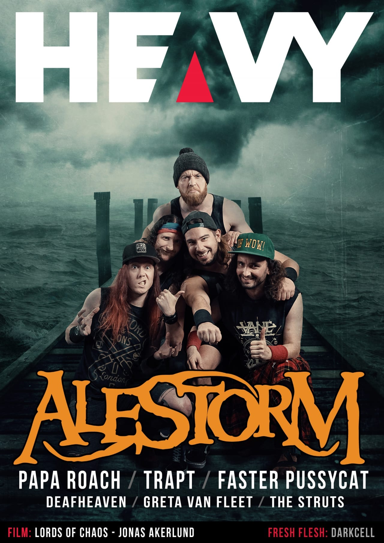 HEAVY Magazine Cover - Digi-Mag 61