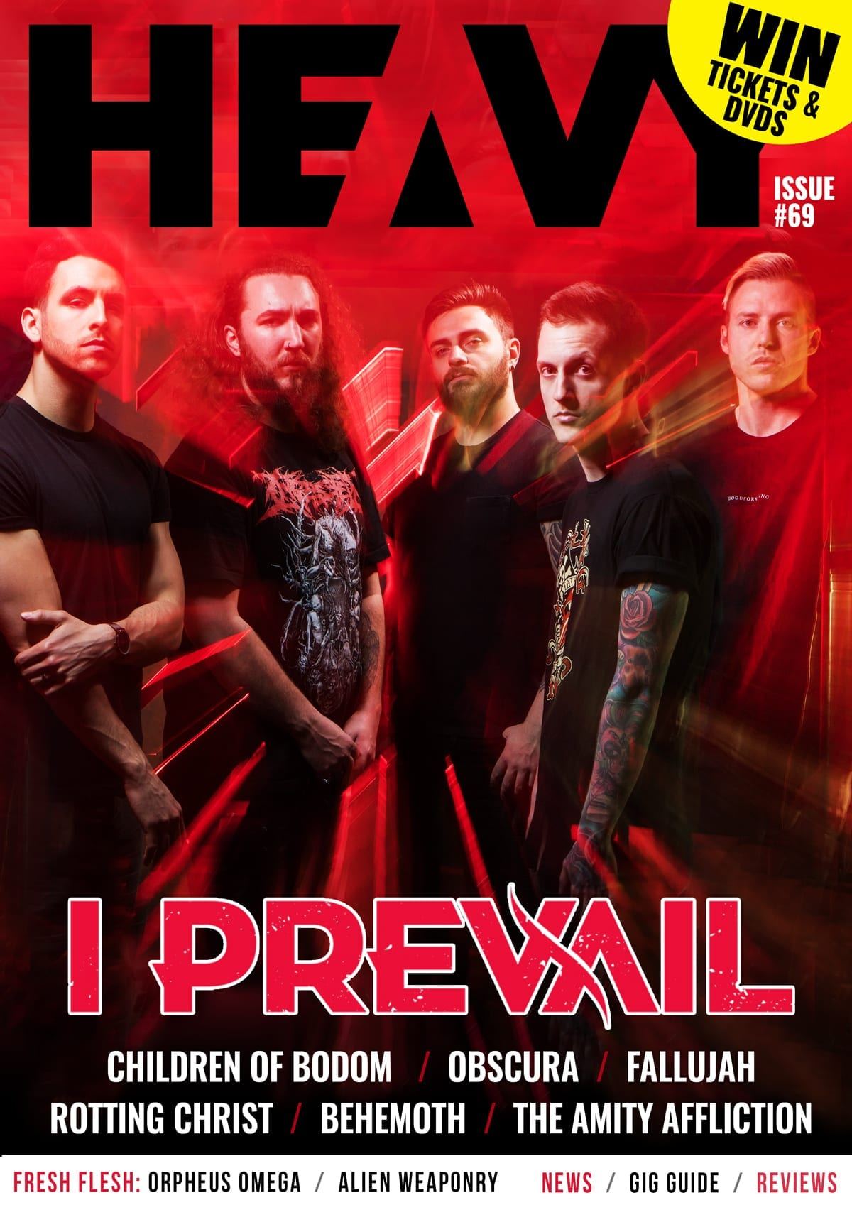 HEAVY Magazine Cover - Digi-Mag 69