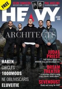 HEAVY Magazine - MARCH 2019 Cover