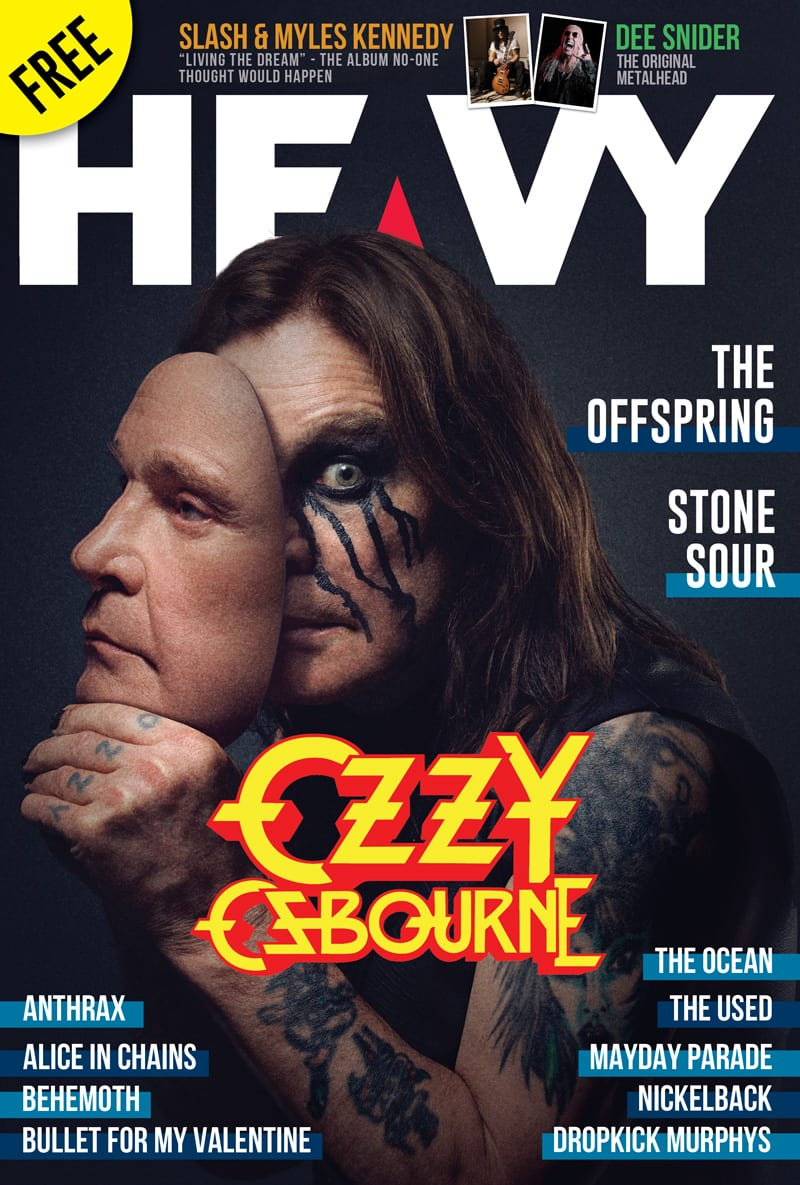 HEAVY Magazine - Nov 18 - ISSUE #56