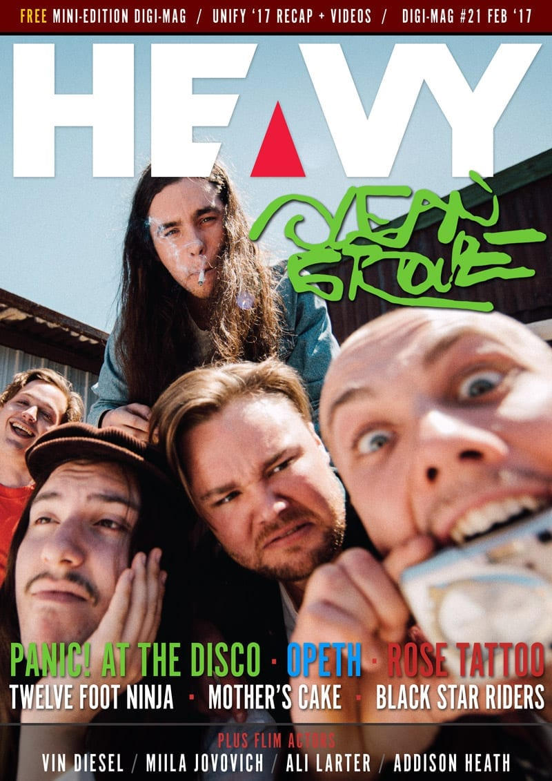 HEAVY Magazine Cover - Digi-Mag - #21
