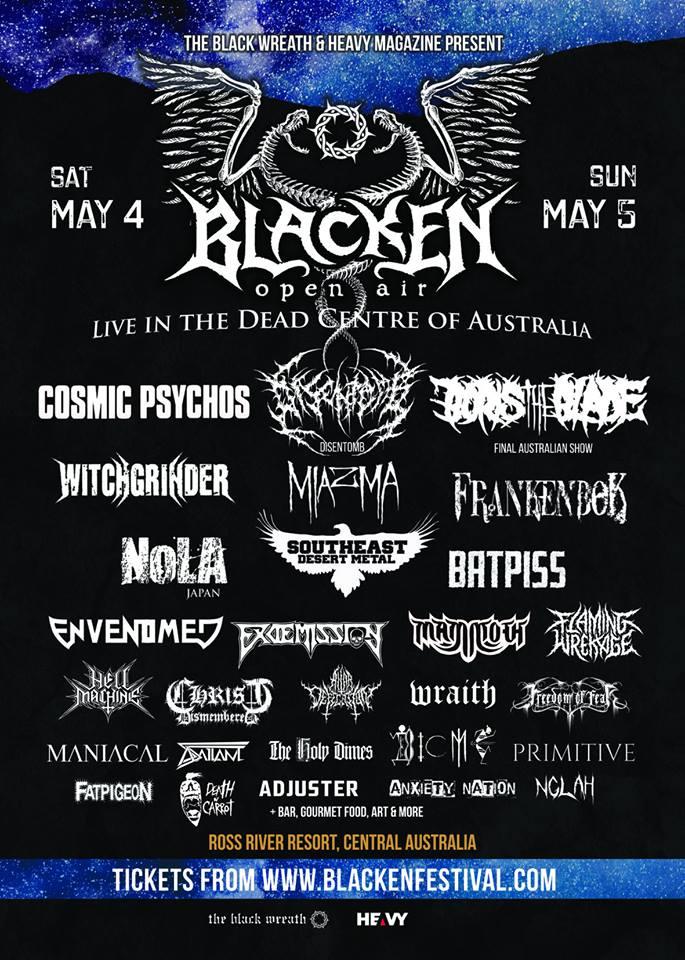 Blacken Open Air Festival - HEAVY Magazine