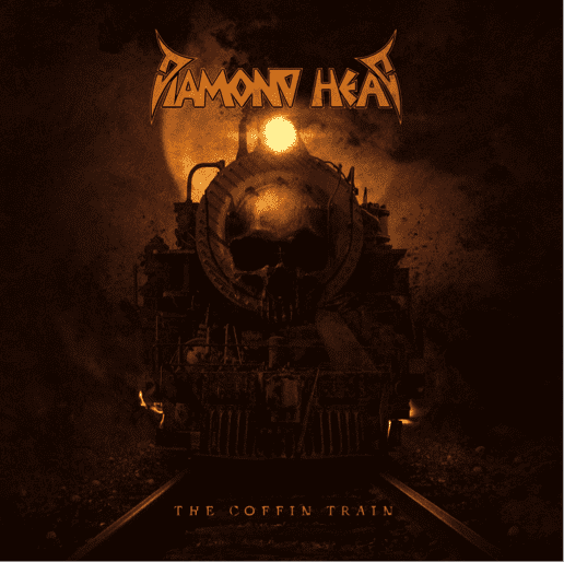 "Diamond Head - ""The Coffin Train"" - Album Cover"