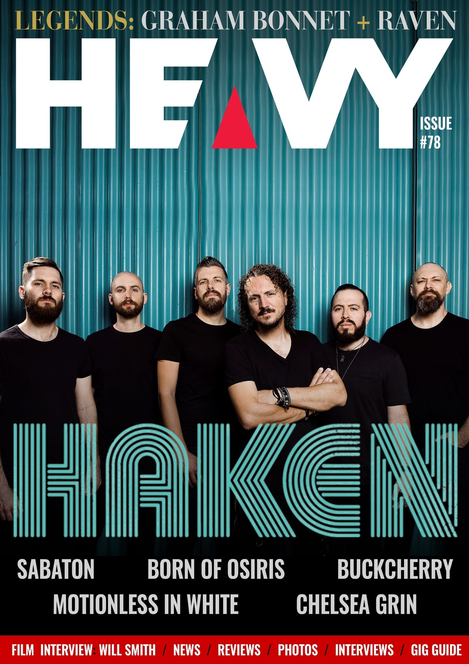 HEAVY Magazine Cover - Digi-Mag - #78