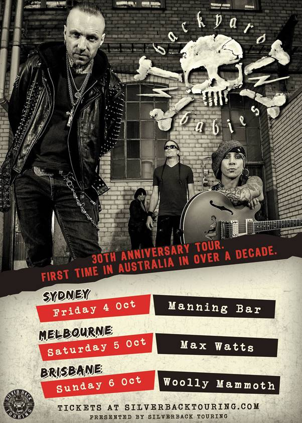 Backyard Babies Australian Tour - HEAVY Magazine