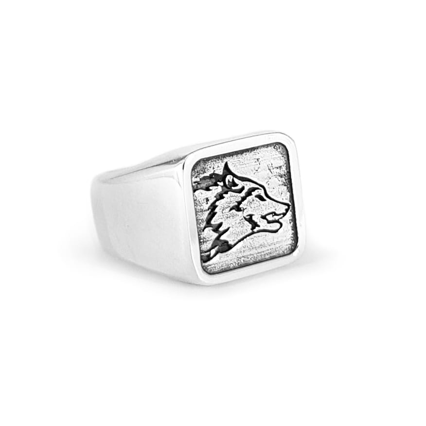 WOLVES Apex Wolf - Large Signet Ring