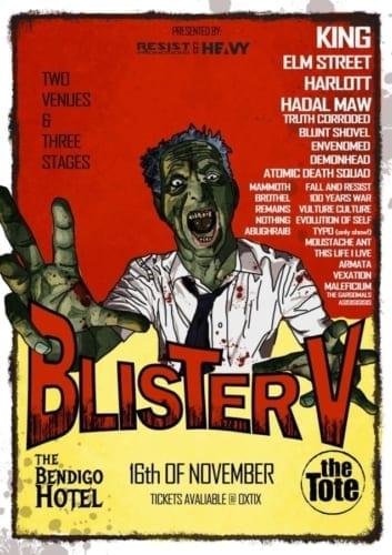 Blister Metal Festival poster