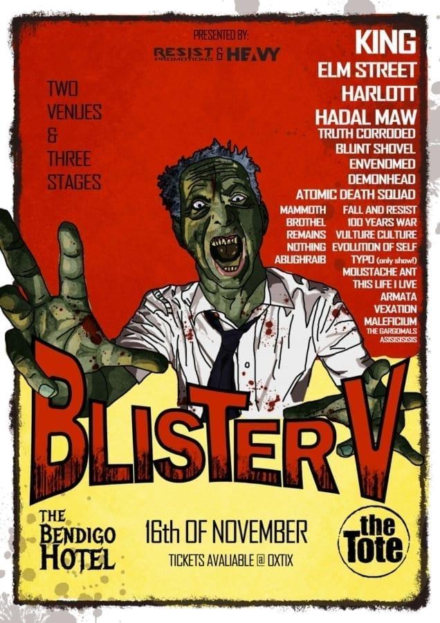 Blister Metal Festival V line-up!