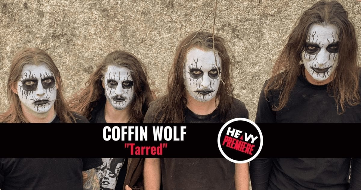 Coffin Wolf Premiere on HEAVY Magazine