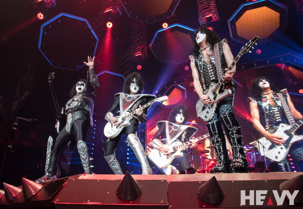 KISS at the Manchester Arena, Manchester on 12/7/19