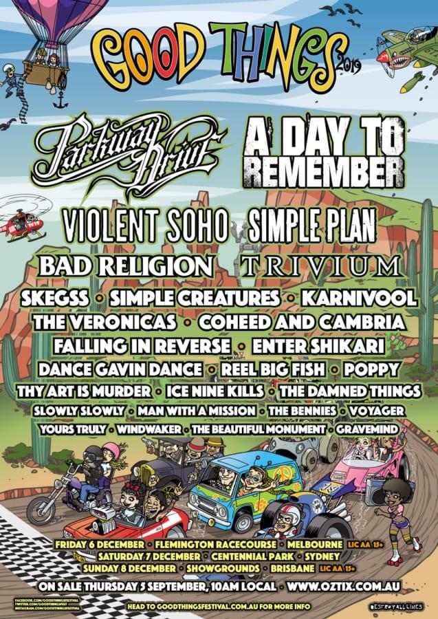Good Things Festival Poster
