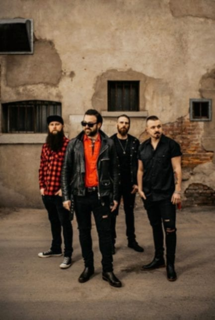 """The Wild! just released a new song and video """"Playing With Fire"""""""