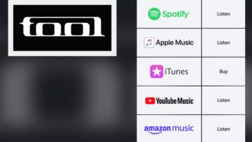 Music Steaming logos