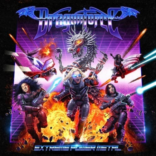 """DRAGONFORCE new album """"Extreme Power Metal"""" + new song!"""