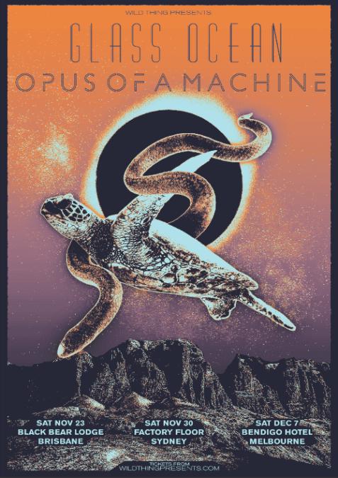 GLASS OCEAN & OPUS OF A MACHINE  Announce Co-Headline Tour